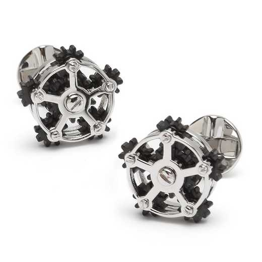 OB-MP-RGEAR-SL: ROTATING GEAR CUFFLINKS
